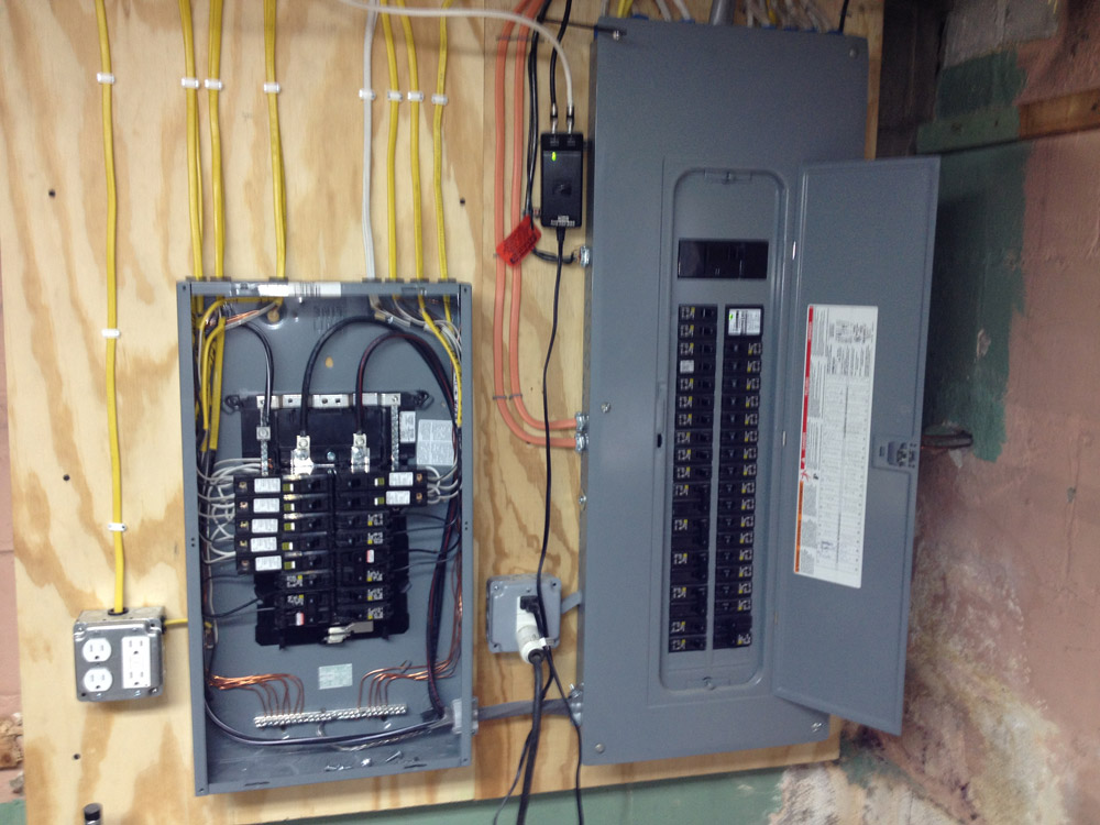 Pacific star electric sub panel electrical contractor for Best electrical panel for house